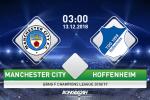 Man City 2-1 Hoffenheim (KT): Sane lap cu dup, Man xanh thang nguoc an tuong