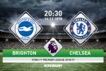 Brighton 1-2 Chelsea (KT): Hazard ruc sang, The Blues thang vat va tai Amex