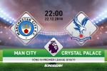 Man City 2-3 Crystal Palace (KT): Nha vua thua soc tai thanh dia Etihad