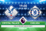 Crystal Palace 0-1 Chelsea (KT): Thoat hiem tai Selhurst Park, The Blues xay chac top 4