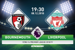 Nhan dinh Bournemouth vs Liverpool (19h30 ngay 8/12): Ba diem khong chi vi ngoi dau bang