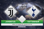 Juventus vs Tottenham (2h45 ngay 14/2): Ga trong choai nay da lon!