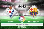 Eibar 0-2 Barca (KT): Messi vô duyên, Blaugrana vẫn nhẹ nhàng kiếm 3 điểm