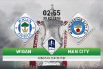 Wigan 1-0 Man City: Thua soc doi hang 3, Man xanh chia tay FA Cup