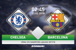 Chelsea 1-1 Barca: Messi pha dop, Blaugrana chiem loi the