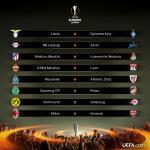 Bốc thăm vòng 1/8 Europa League: Kinh điển Milan vs Arsenal!