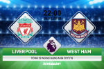 Liverpool vs West Ham (22h ngay 24/2): Co den tay The Kop