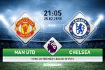 Man Utd vs Chelsea (21h05 ngày 25/2): Bóng ma trong nhà hát
