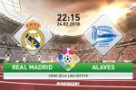 TRỰC TIẾP Real Madrid 1-0 Alaves (H1): Ronaldo khai thông bế tắc