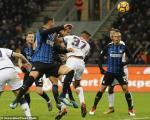 Tong hop: Inter Milan 1-1 Crotone (Vong 23 Serie A 2017/18)