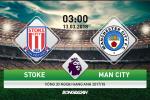 Stoke 0-2 Man City: David Silva ghi ca 2 ban, Man xanh binh than kiem 3 diem