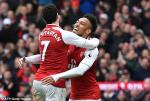 Tong hop: Arsenal 3-0 Watford (Vong 30 Premier League 2017/18)