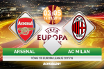 Ket qua Arsenal vs AC Milan tran dau vong 1/8 Europa League 2017/18