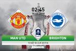 TRUC TIEP MU vs Brighton 02h45 ngay 18/3 (FA Cup 2017/18)