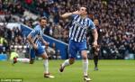 Tong hop: Brighton 2-1 Arsenal (Vong 29 Premier League 2017/18)