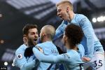 Tong hop: Man City 1-0 Chelsea (Vong 29 Premier League 2017/18)