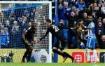 Tong hop: Brighton 0-2 Leicester (Vong 32 Premier League 2017/18)
