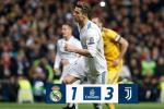 Du am Real 1-3 Juventus: Hut chet tren san nha