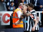 Tong hop: Newcastle 2-1 Arsenal (Vong 34 Premier League 2017/18)
