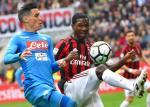 Tong hop: Milan 0-0 Napoli (Vong 32 Serie A 2017/18)