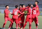U19 Việt Nam chia điểm với đối thủ dù đá hơn 2 người
