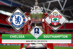 Chelsea vs Southampton (21h00 ngay 22/4): Hen gap lai, Wembley!