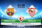 Kết quả Barca vs Sevilla trận đấu chung kết cúp Nhà vua TBN 2017/18