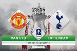 M.U vs Tottenham (23h15 ngay 21/4): Tien tay bat Quy