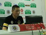 HLV Chu Đình Nghiêm chê tinh thần chiến đấu của các cầu thủ Hà Nội