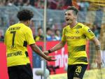 Tong hop: Dortmund 4-0 Leverkusen (Vong 31 Bundesliga 2017/18)