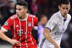 Real hy vong James Rodriguez tro lai Bernabeu