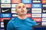 Iniesta công bố 2 điểm đến tiềm năng sau khi rời Barca