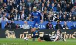 Tong hop: Leicester 1-2 Newcastle (Vong 33 Premier League 2017/18)