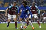 Tong hop: Chelsea 1-1 West Ham (Vong 33 Premier League 2017/18)
