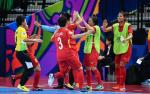 Ket qua Nu Futsal Viet Nam 0-5 Nu Futsal Iran (Ban ket giai chau A 2018)