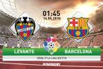 Levante 5-4 Barca (KT): Thua dau trong ngay vang Messi, Blaugrana het doc co cau bai