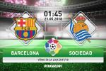 TRỰC TIẾP Barca 0-0 Sociedad (H2): Vắng Messi, nhà vua bế tắc