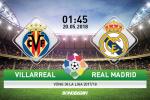 Kết quả Villarreal vs Real Madrid trận đấu vòng 38 La Liga 2017/18
