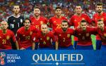 Danh sách ĐT Tây Ban Nha tham dự World Cup 2018