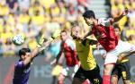 Tong hop: Dortmund 1-2 Mainz (Vong 33 Bundesliga 2017/18)