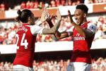 Tong hop: Arsenal 5-0 Burnley (Vong 37 Premier League 2017/18)