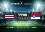 Nhan dinh Costa Rica vs Serbia (19h ngay 17/6): Dai bang diet moi