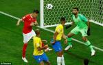 Những thống kê ấn tượng sau trận đấu Brazil 1-1 Thụy Sĩ