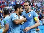 Tong hop: Uruguay 1-0 Saudi Arabia (Bang A World Cup 2018)