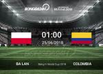 Nhan dinh Ba Lan vs Colombia (1h00 ngay 25/6): Chung ket bang H