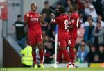 Tong hop: Blackburn 0-2 Liverpool (Giao huu he 2018)