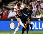 Video tong hop: Sheffield United 1-1 Inter Milan (Giao huu CLB he 2018)