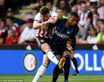 Video tong hop: Sheffield United 1-1 Inter Milan (Giao huu CLB he 2018)