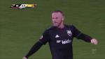 Ban thang dau tien cua Rooney trong mau ao DC United