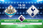Newcastle 1-2 Tottenham (KT): May man tieu diet Chich choe, Spurs khoi dau mua giai suon se